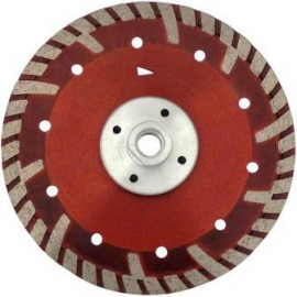 Disc diamantat Turbo GS Beton/Granit cu flansa 125 M14